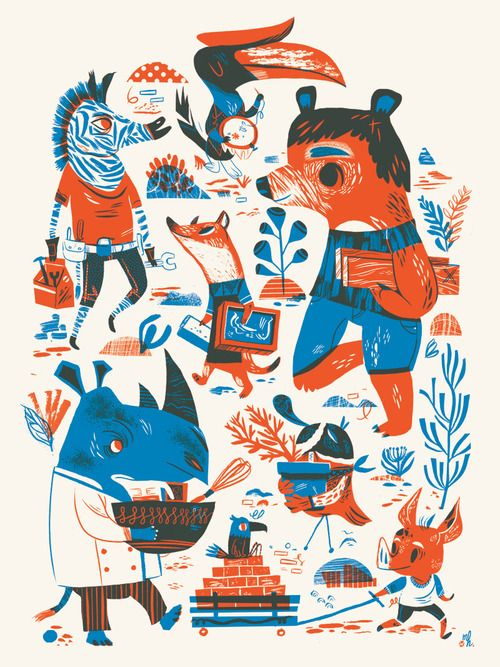 Last week was Design Week Portland….and I missed all of it! Which is seriously laughable, because there was so much stuff to go to. Un...