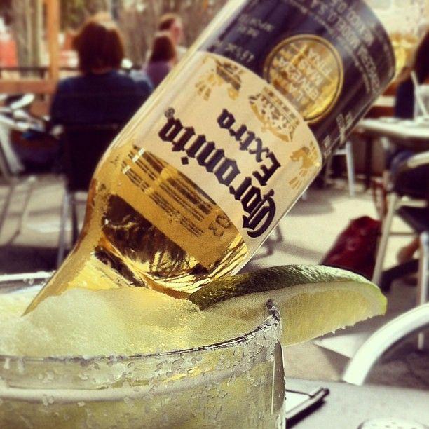 Photo by natasmith1 - First patio drink of the year # #bulldog #margarita #patio #spring