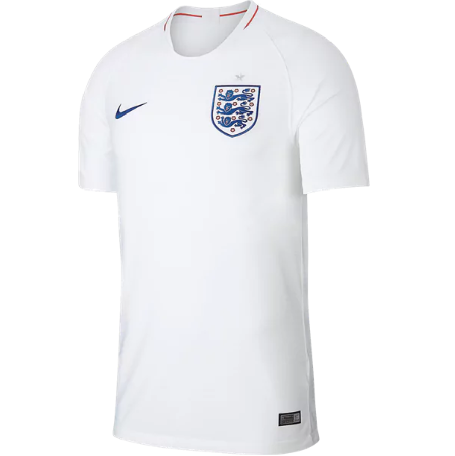 England 2018 World Cup Home Men Soccer Jersey Personalized Name And Number England Shirt England National Team Team Jersey