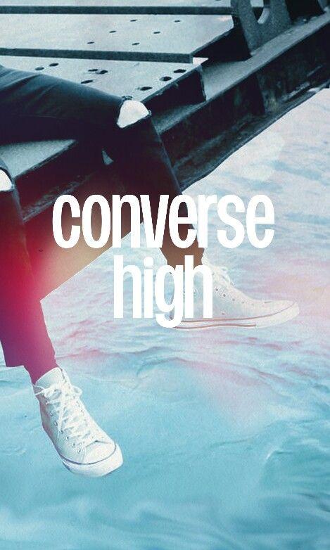converse high bts letra