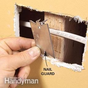 Fishing Electrical Wire Through Walls Diy Electrical Diy Home Improvement
