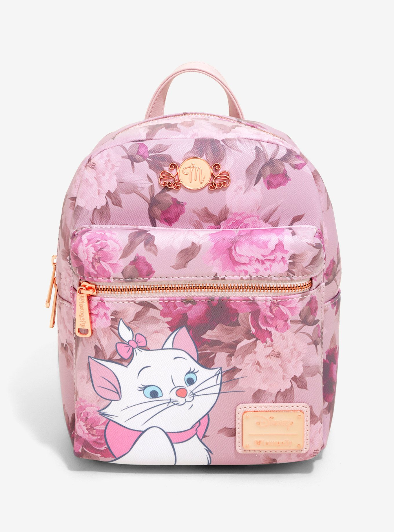 8dd5db9174f Loungefly Disney The Aristocats Marie Floral Mini Backpack - BoxLunch  Exclusive