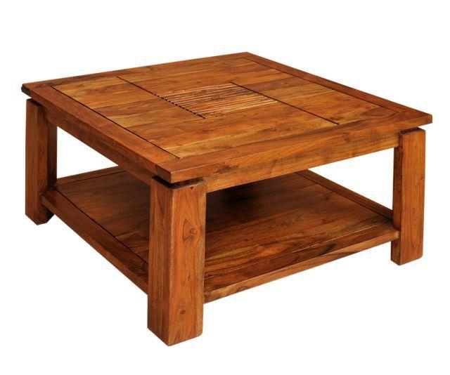 Lawa Stolik Kawowy Salon Meble Kolonialne Drewno Coffee Table Home Decor Furniture