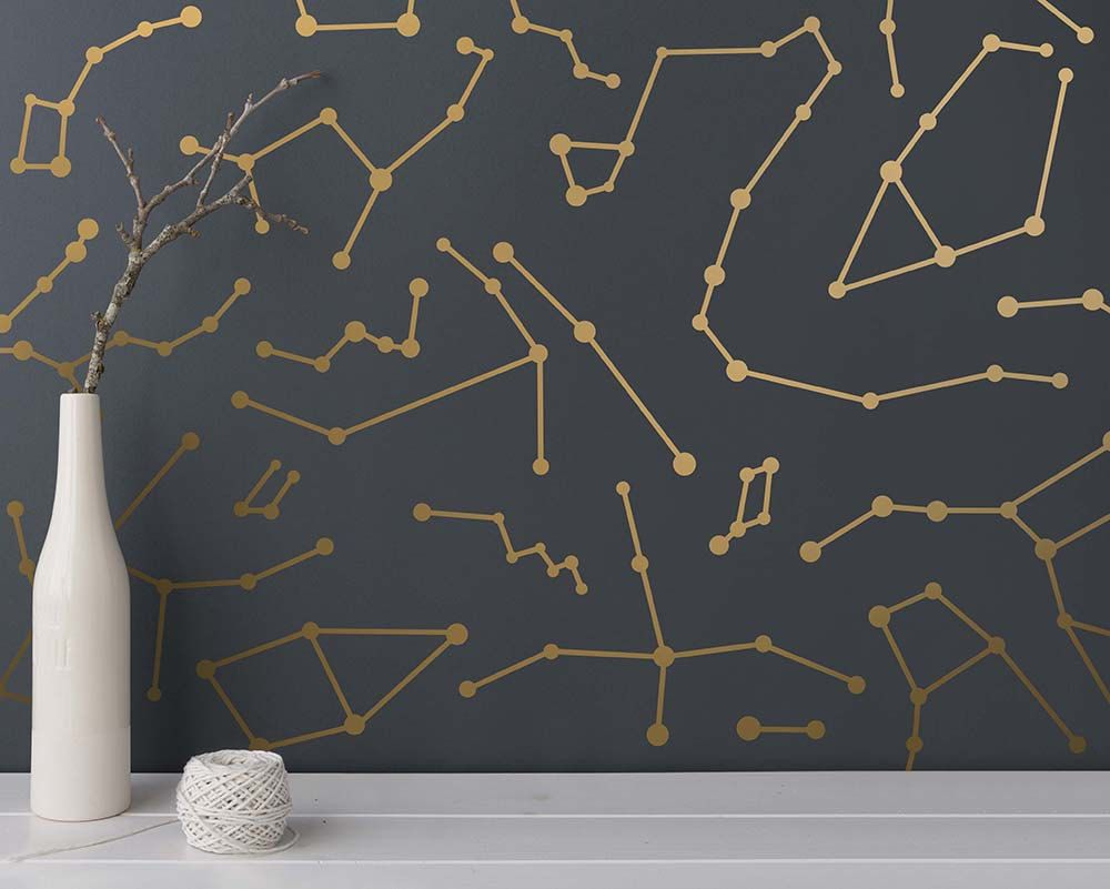 Constellation Wall Decals Star Decals Modern Wall Decals Star Wall Stickers Unique Wall Decor Star Wall Decals Constellation Wall Decal Modern Wall Decals