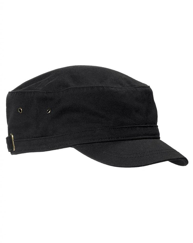 a65e3f6200d Short Bill Cadet Infantry Cap BA501 - Black - CG11M9BJJYD - Hats   Caps
