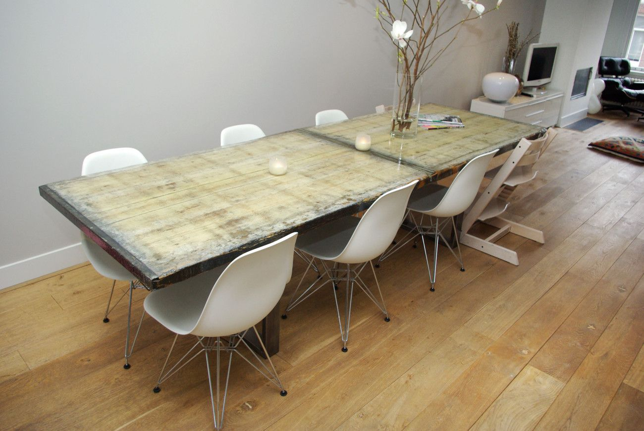 Wendel design tafel whitewash wendel design for Tafel van steenschotten
