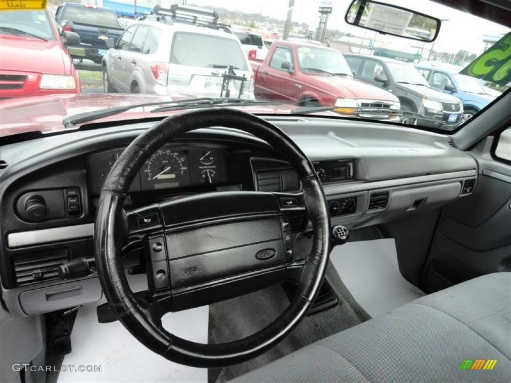 1995 Ford F150 Xlt Regular Cab Interior Photo 57789677 Looks Familar Except Yours Was On The Column 1995 Ford F150 Ford F150 Ford F150 Xlt