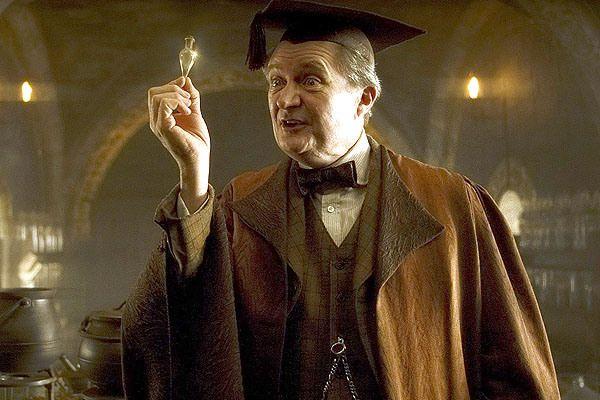 Professor Horace E F Slughorn Jim Broadbent As A Student Slughorn Gravitated Toward Poti Harry Potter Professors Harry Potter Characters Harry Potter Quiz