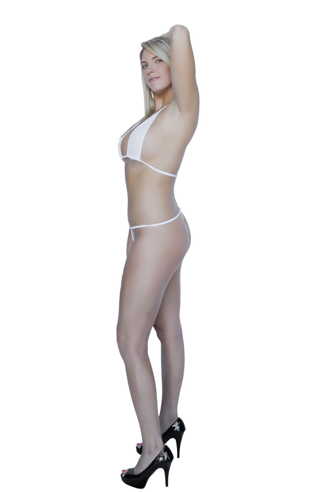3d3591d0eb581 Flirtzy Teeny Micro Mini Thong and String Top Bikini Brazilian Swimwear  Mini Bikini Swimsuit G-String#Mini, #Thong, #Micro