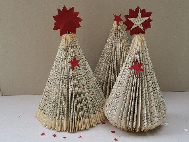 weihnachtsbaum falten b cherfalten b cher falten buch. Black Bedroom Furniture Sets. Home Design Ideas