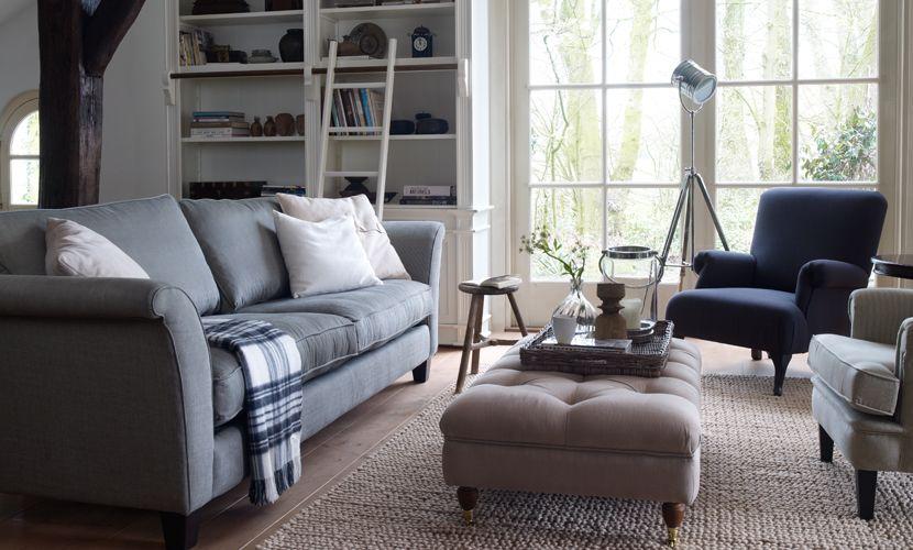 Jouw woonkamer landelijk inrichten: 15 voorbeelden! | Pinterest ...