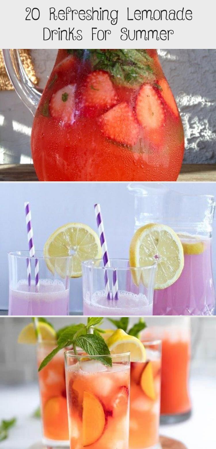20 Refreshing Lemonade Drinks For Summer #bestlemonade