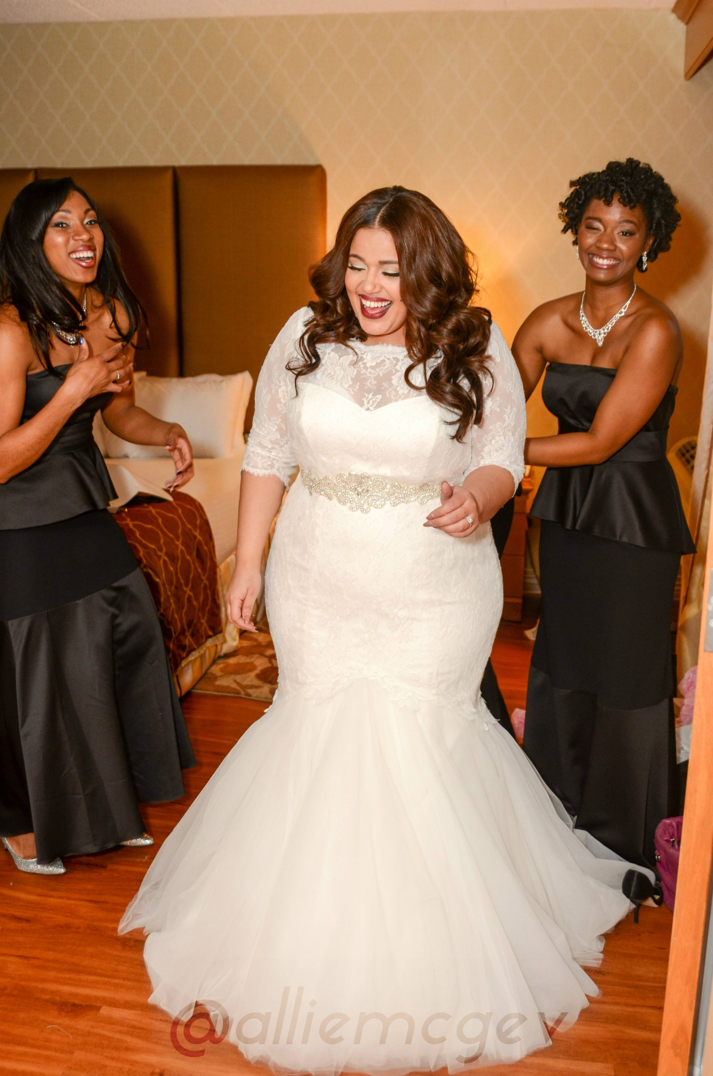 The ultimate guide to plus size bridal shopping httpwww plus size wedding dresses mermaid style is a new style of wedding dress which came up having fitted upper and frilled from the knee length the dress is ombrellifo Gallery