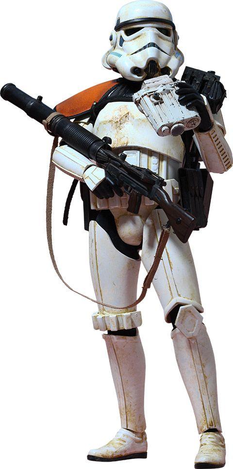 """Soldado de asalto (""""Star Wars"""") - Figura realista"""