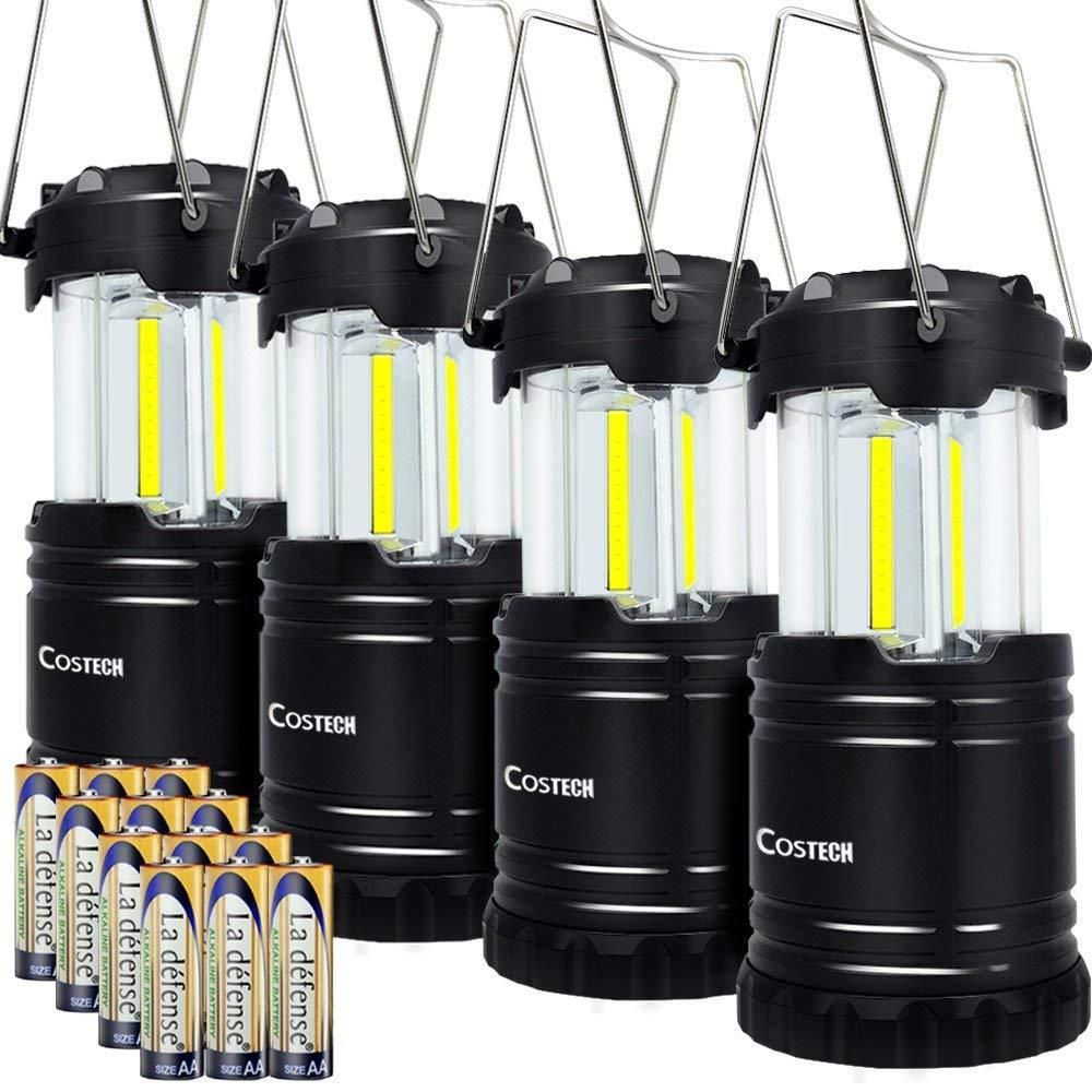 Us Deals Cars Led Camping Lantern Cob Light Ultra Bright Collapsible Lamp Portable Set Of 4 17 58 End Date Sunday Usdeals Quickberater