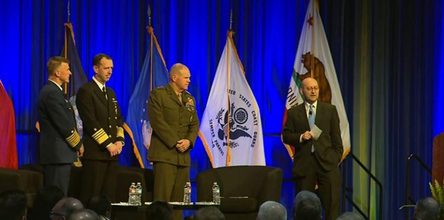 Watch LIVE: town hall with GenRobertNeller CNORichardson ADMZukunft here: https://t.co/Vd5G4ARnio https://t.co/3qVrFX7APb #Marines