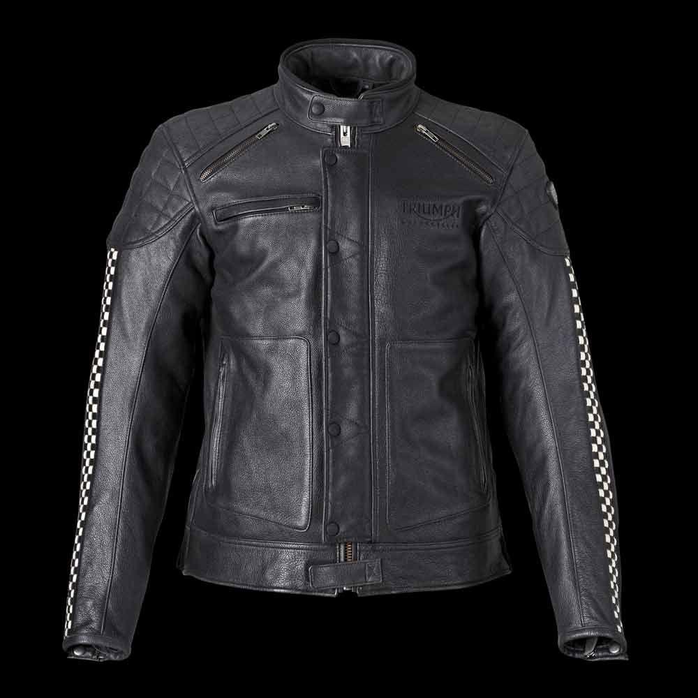 Cafe Racer Leather Jacket For Men Triumph Motorcycles Cafe Racer Jacket Triumph Cafe Racer Cafe Racer Leather Jacket [ 1000 x 1000 Pixel ]