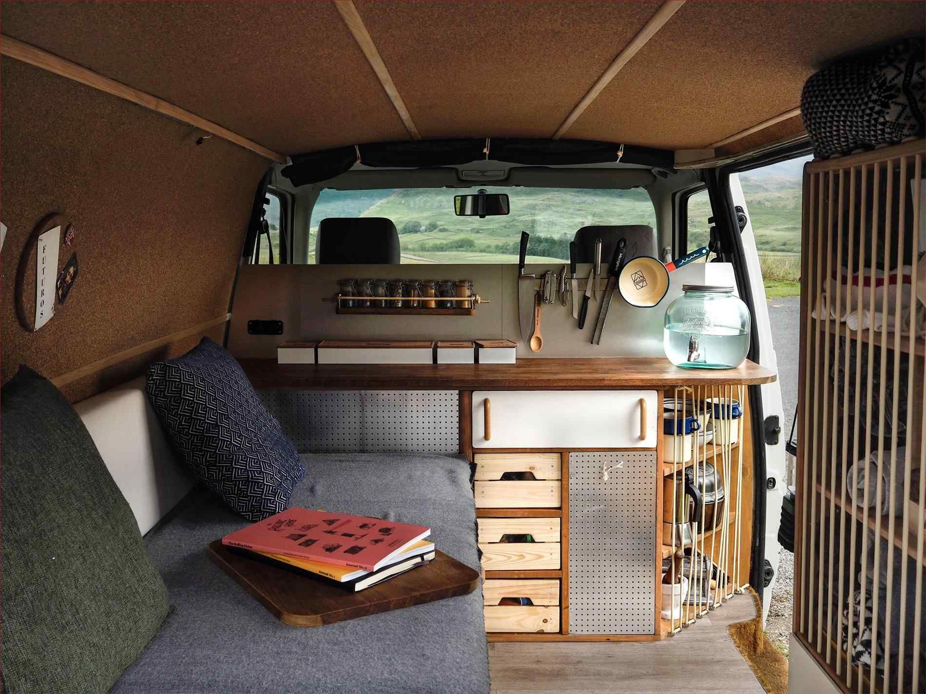 Image Result For Ford Transit Connect Camper Conversion Ford Transit Connect Camper Camper Umbau Camper Innen