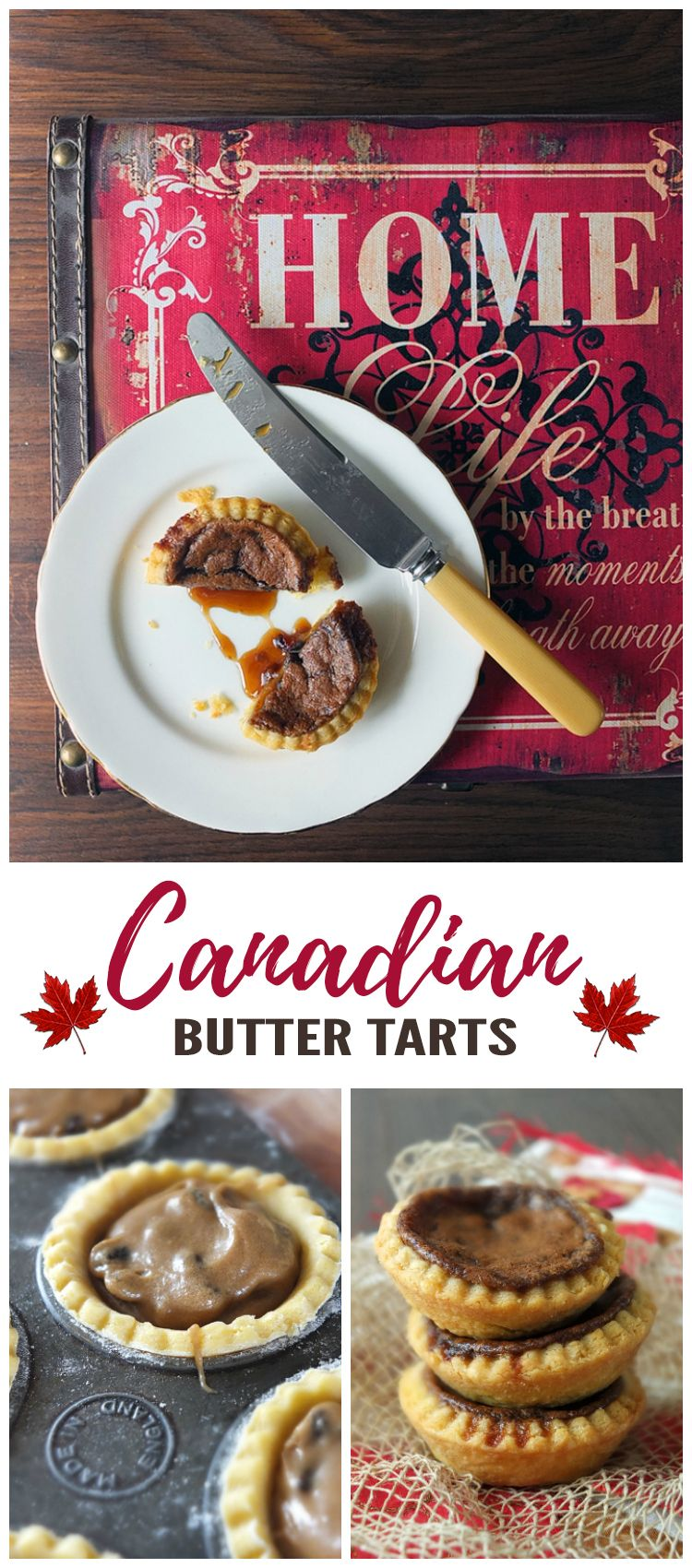 One of Canada's most popular treats! Butter tarts