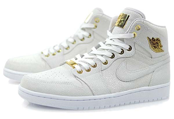 timeless design 7cde0 940d9 NIKE AIR JORDAN 1 PINNACLE [WHITE / WHITE-METALLIC GOLD ...