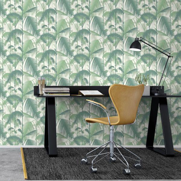 Papier Peint Palm Jungle Cole And Son Cole Son Wallpaper Cole Son Mid Century Furniture