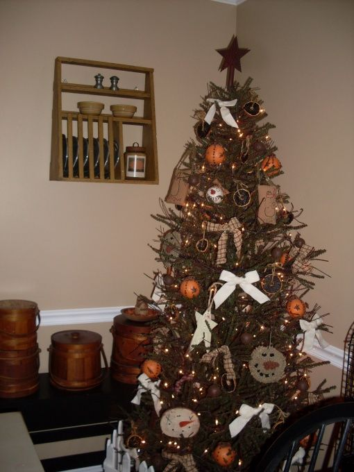 primitive decorating ideas our primitivecountry christmas christmas decorating ideas