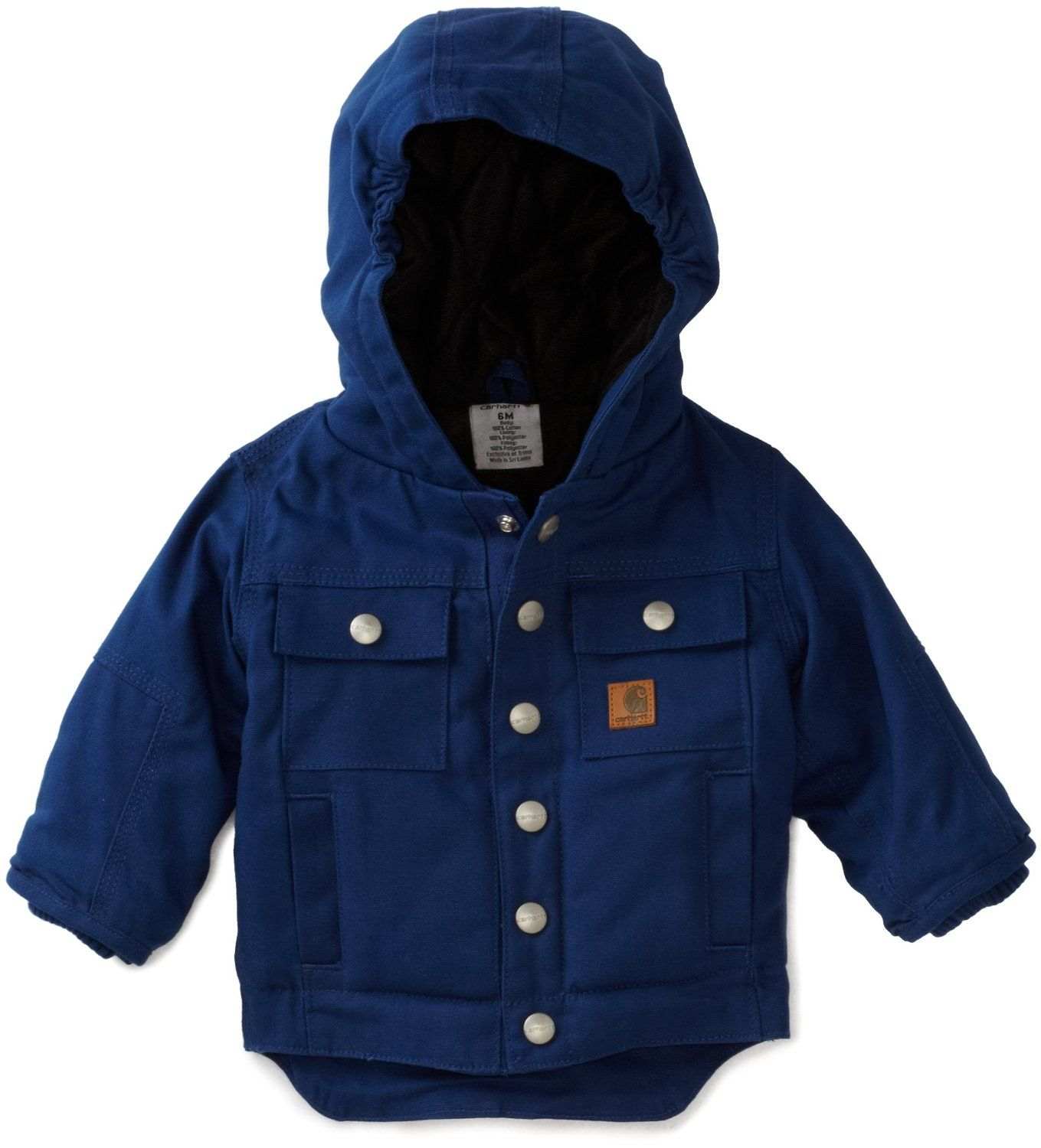 Amazon.com: Carhartt Baby-boys Infant Rancher Quilted Flannel ... : quilted baby coat - Adamdwight.com