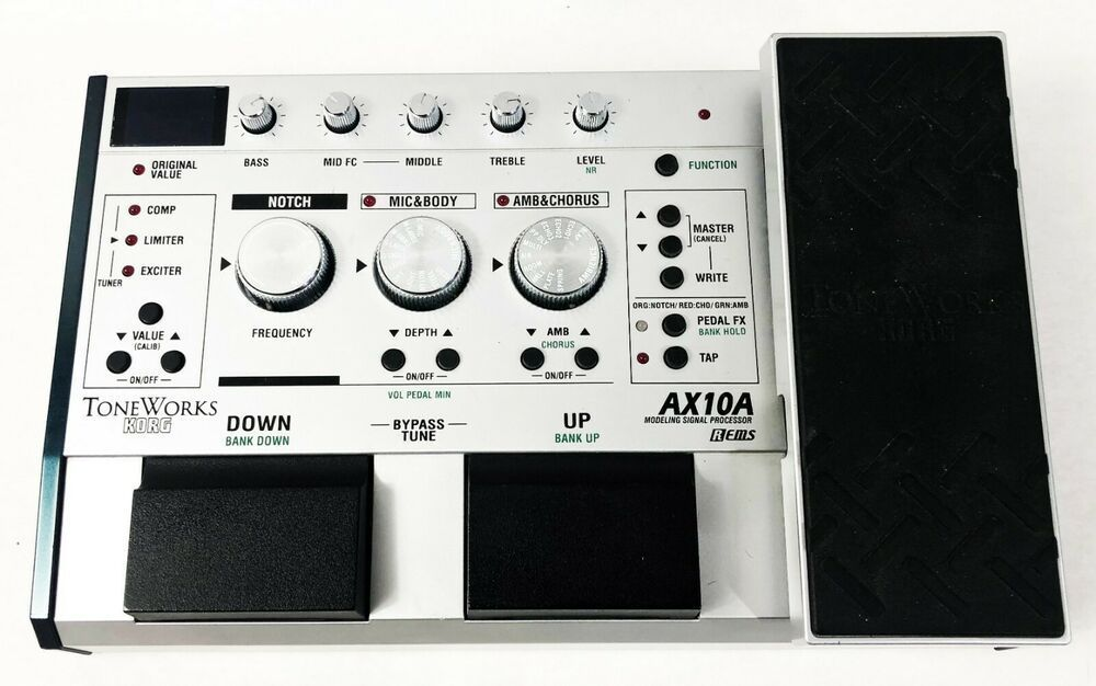 Korg Toneworks AX10A Acoustic Modeling Multi-Effects Processor Guitar Pedal #Korg #guitarpedals Korg Toneworks AX10A Acoustic Modeling Multi-Effects Processor Guitar Pedal #Korg #guitarpedals