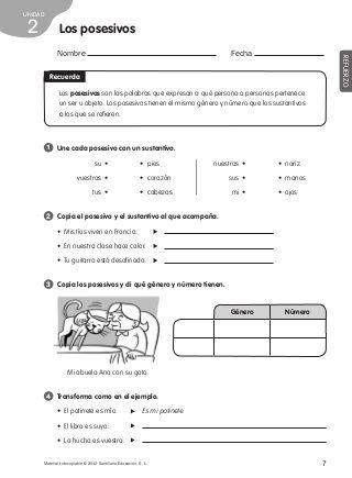 Refuerzo lengua 4º de primaria | comunicacion | Teaching ...