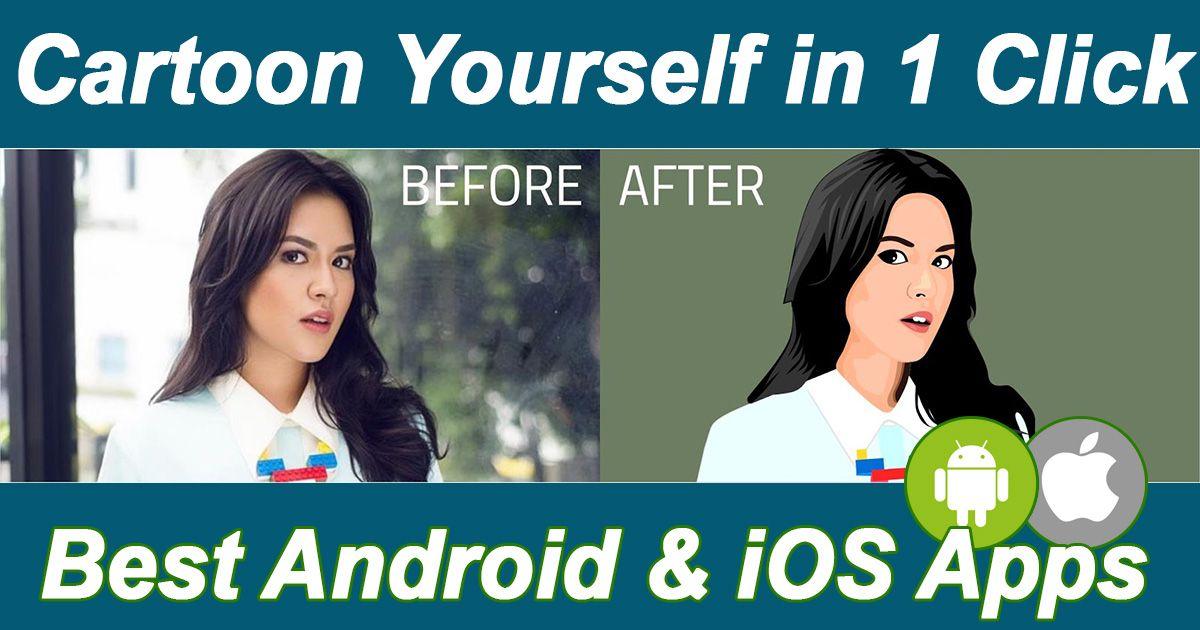 Cartoon Yourself Apps will make your photos into cartoons