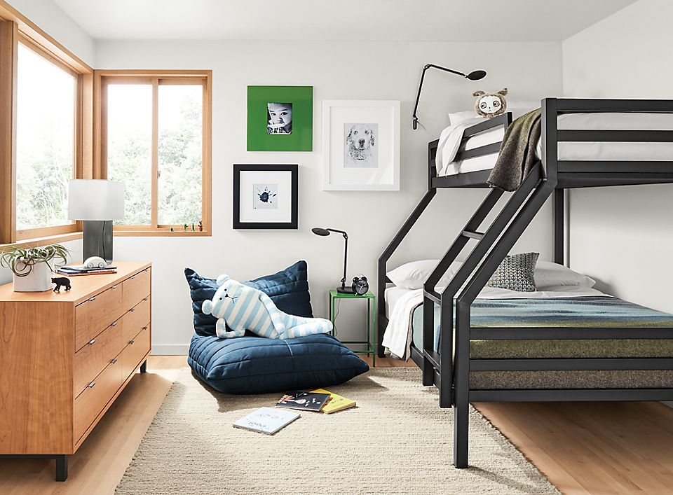 Fort Bunk Levi Lounge Chair Room Board Modern Bunk Beds Kids Room Furniture Kids Bunk Beds