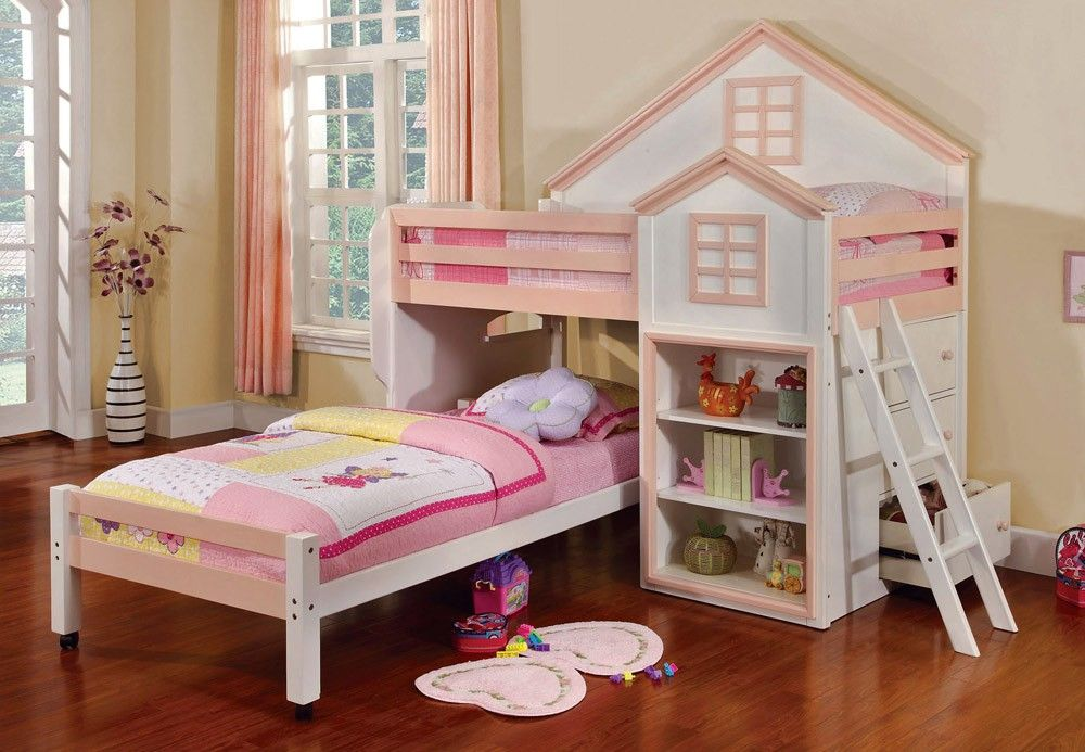 Pink Castle Bunk Bed Bring Some Style Into Your Child S Bedroom With Loft Collection The Urban Inspired Twin Over Setup