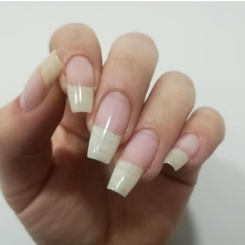 Now We Got The Beautiful Bare Nails From Our Model Lady Jimenezq Those Nails Shots Are So Hard To Get And Waite Natural Nails Long Natural Nails Long Nails