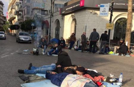 إعتصام لثلاثة أيام على دوار المنارة رفضا لقانون الضمان الإجتماعي Street View Scenes Views