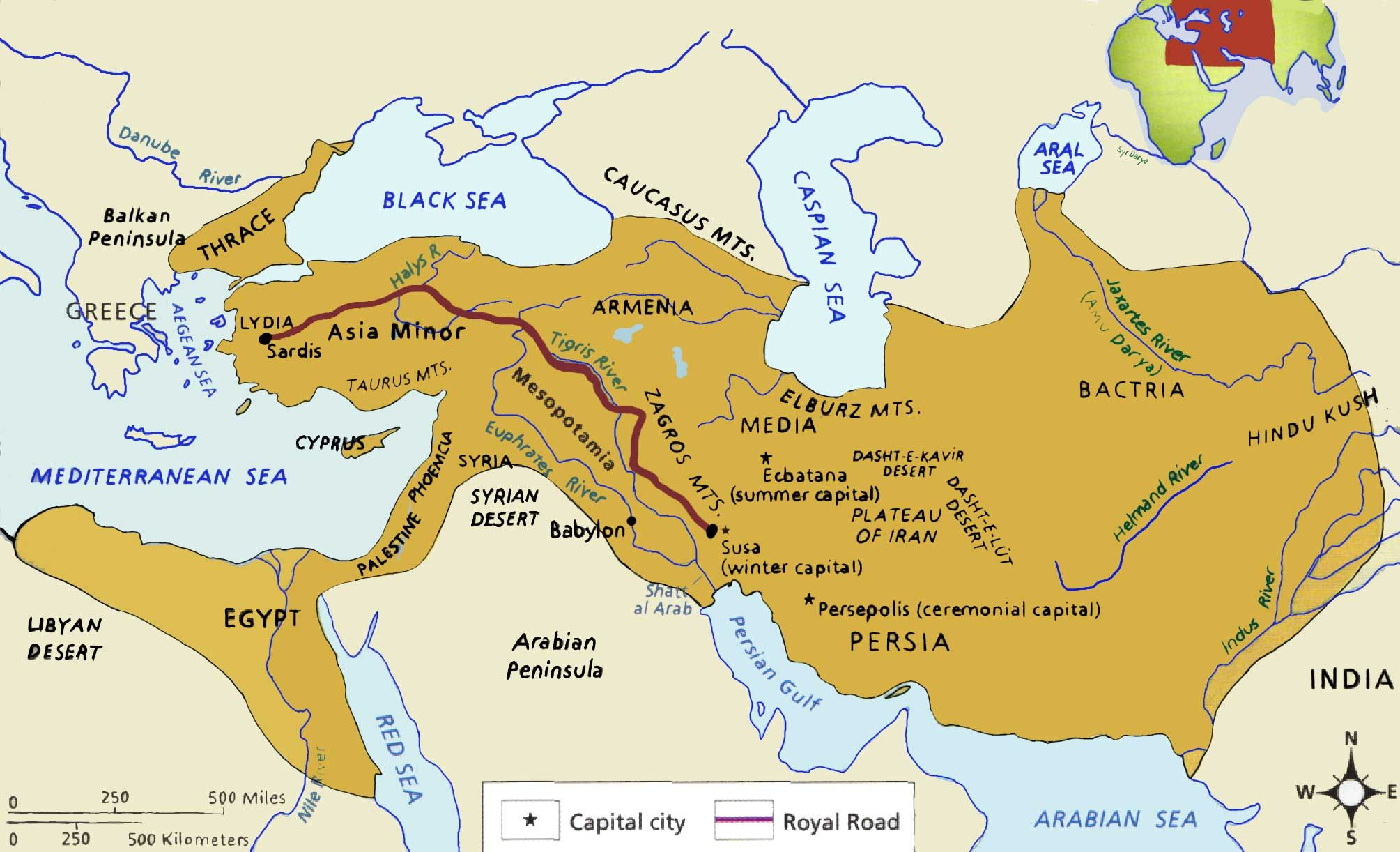 Image result for persian empire map