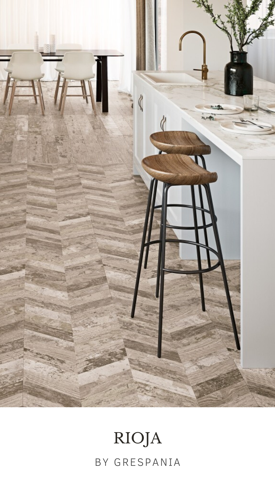 One Of The Most Hygienic Resistant And Durable Options For The Kitchen Flooring Is Wood Porcelain Tile Grespan In 2020 Style Tile Design Your Kitchen Kitchen Trends
