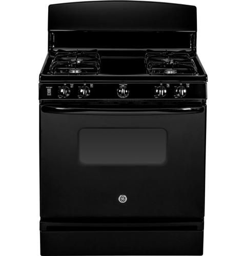 The Porcelain Upswept Cooktop On This Ge Range Allows For Easy Cleaning All Year Round Not Just For Spring Cleaning Lowes Home Improvements Self Cleaning Ovens
