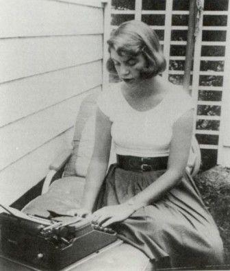 Plath writing
