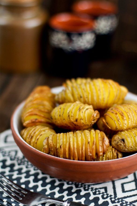 Fächerkartoffeln aus dem Backofen / vom Grill #kartoffelnofen