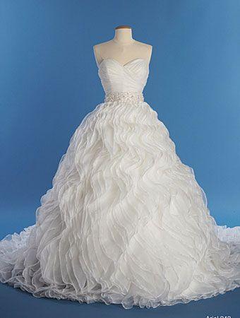 Wedding dress | Dream Wedding | Pinterest | Ariel, Wedding dress and ...