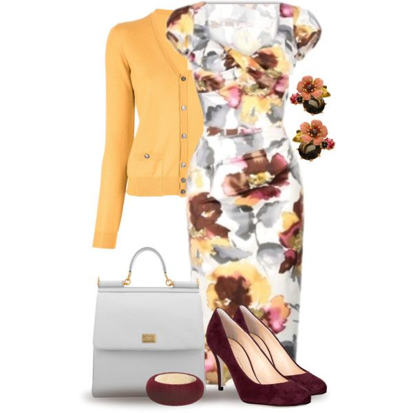 Floral Fantasy by yasminasdream on Polyvore featuring мода, Dsquared2, Giuseppe Zanotti, Dolce&Gabbana, Les Néréides and Pieces