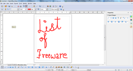 vector graphic editor