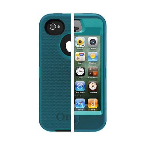 OtterBox Defender Case for iPhone 4 / 4S - Teal