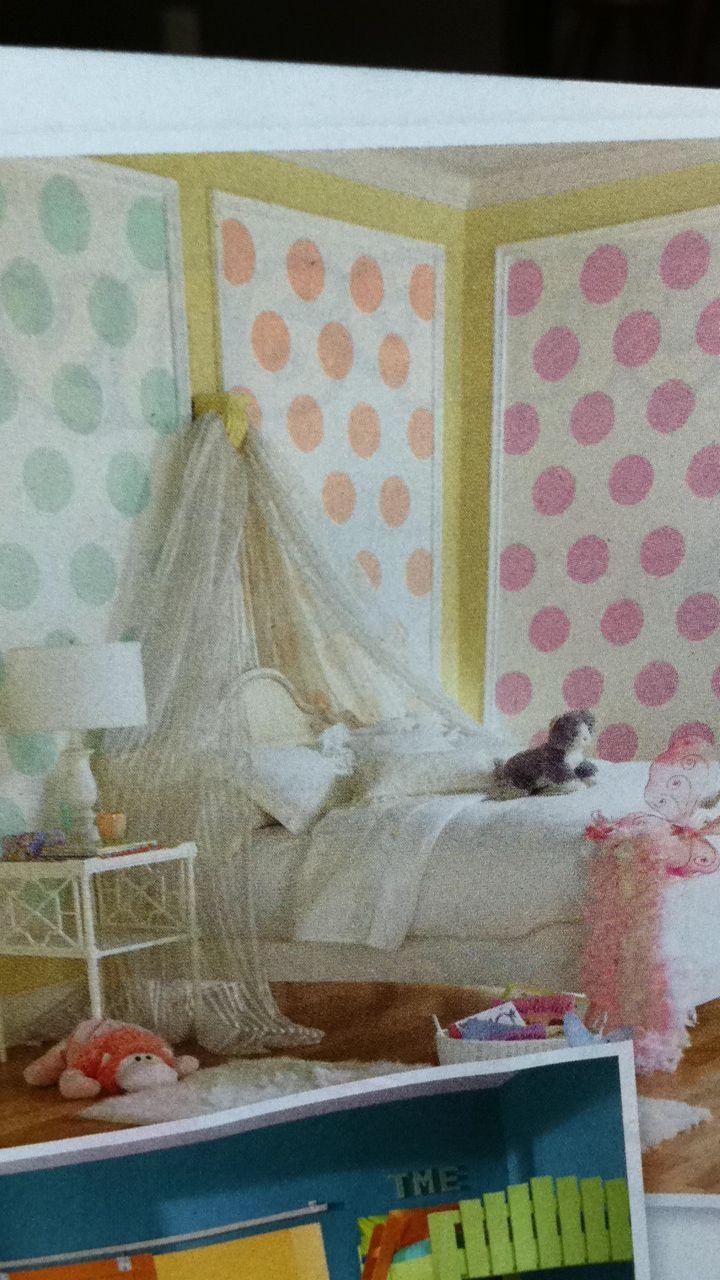 Simple Little Girls Room