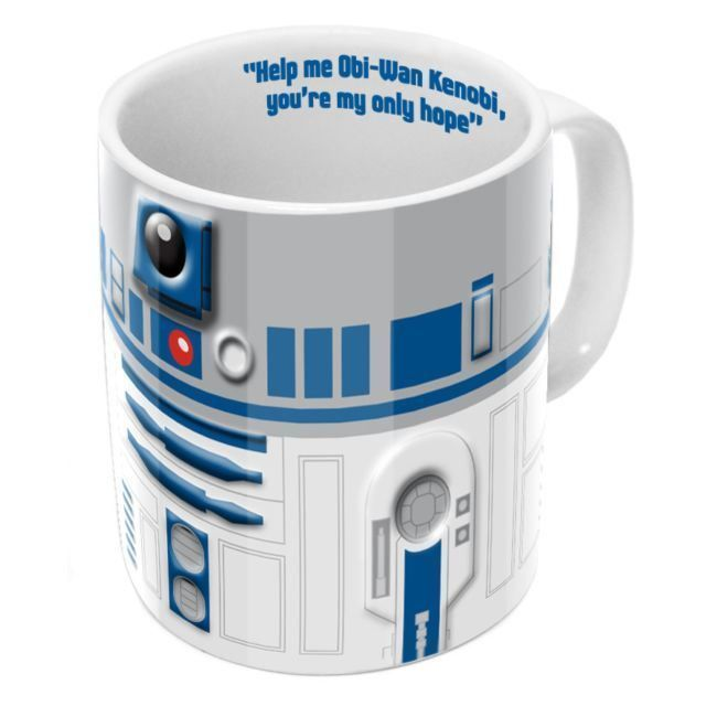 Celebrating Star Wars Day today! May the Fourth be with You! :: Star Wars R2-D2 Mug
