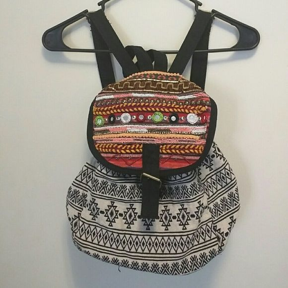 Backpack Colorful backpack from World Market. World Market Bags Backpacks