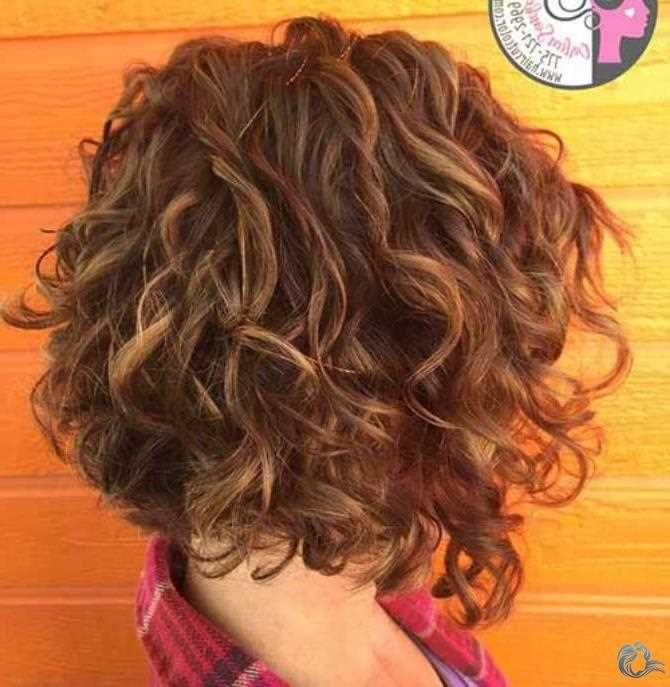 Pretty and curly hairstyles for Bob Hair