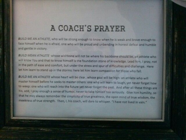 This Was In My Coaches Office Who Passed Away This Is