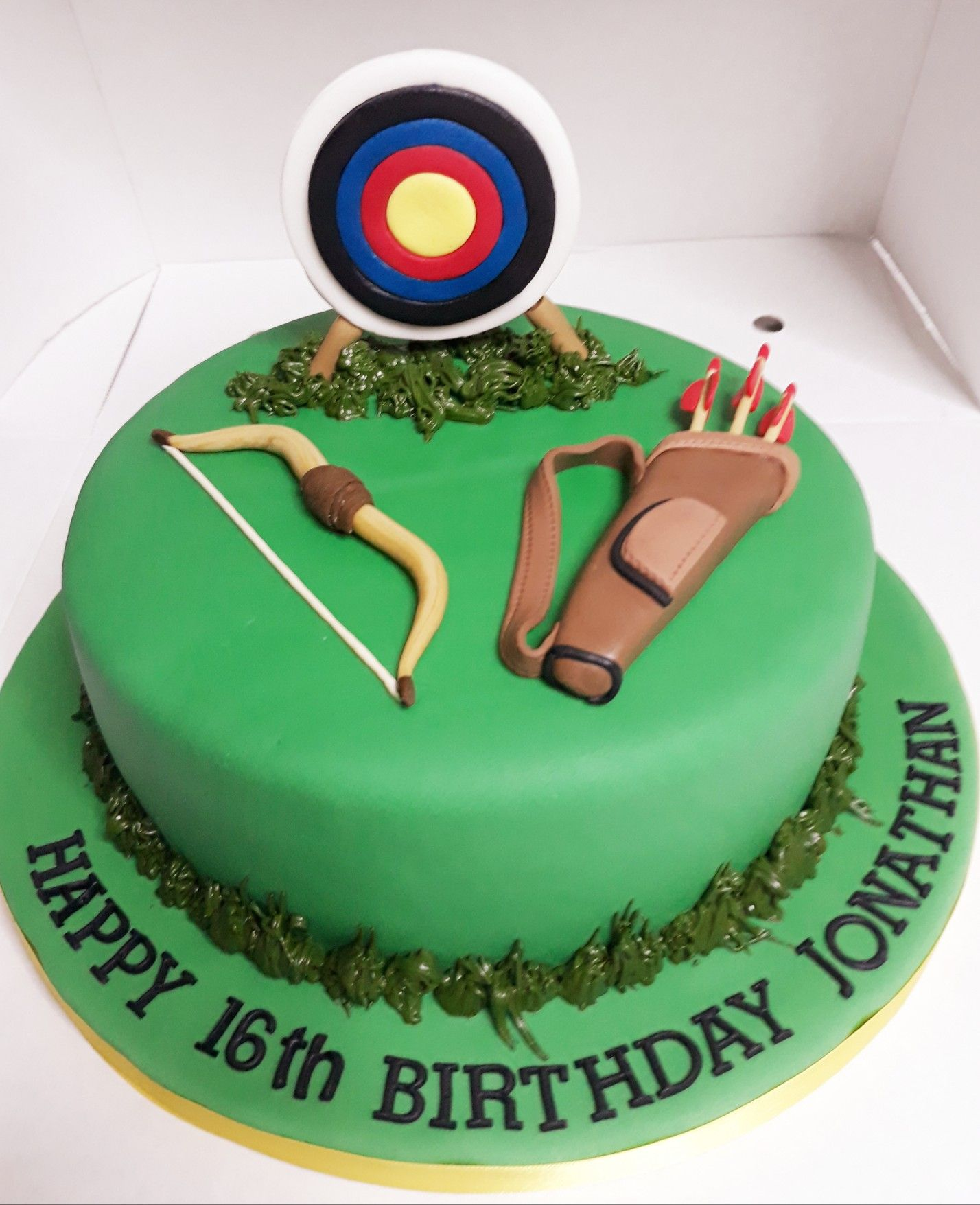 Archery Fondant Cake Made By Rose Mackay With Images