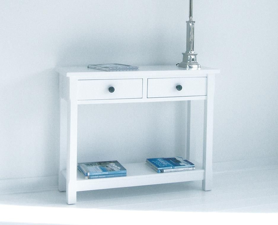 White Hallway Console Table get inspired with this modern console table ! discover more